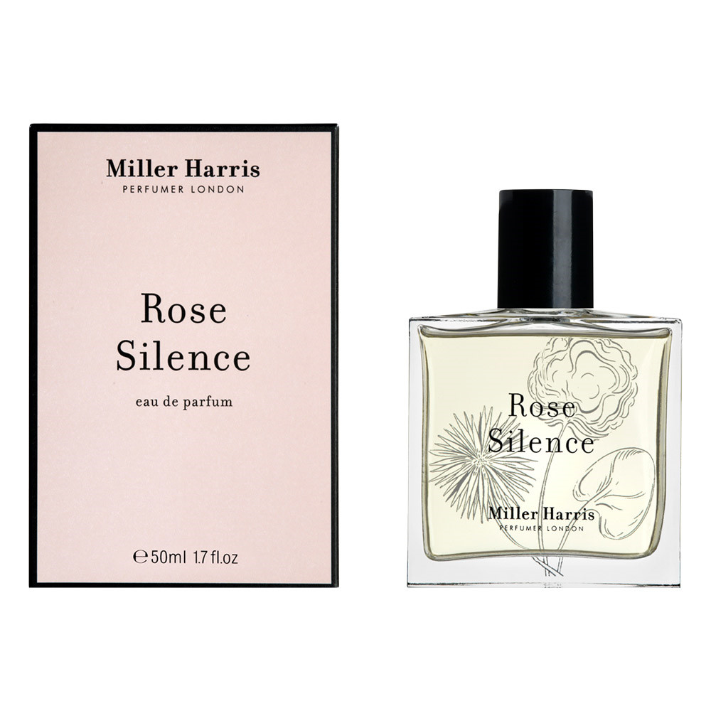 Image of   Miller Harris Rose Silence Eau de Parfum, 50 ml.