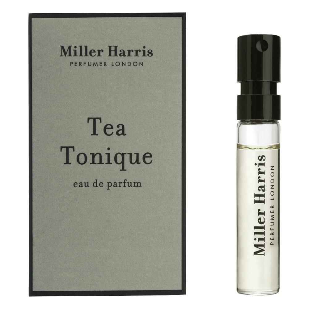 Image of   Miller Harris Tea Tonique Eau de Parfum, DUFTPRØVE, 2 ml.