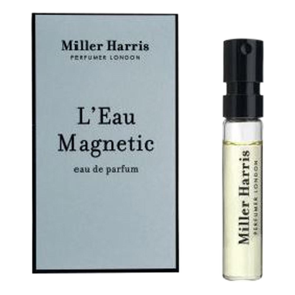 Image of   Miller Harris L'eau Magnetic Eau de Parfum, DUFTPRØVE, 2 ml.