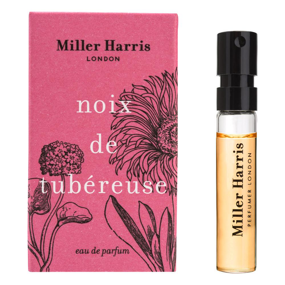 Image of   Miller Harris Noix de Tubéreuse Eau de Parfum, DUFTPRØVE, 2 ml.