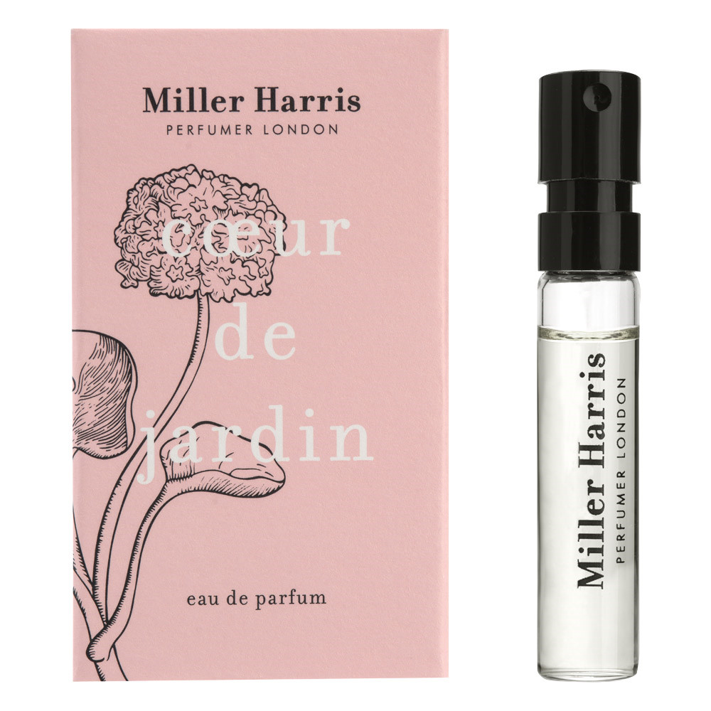 Image of   Miller Harris Coeur de Jardin Eau de Parfum, DUFTPRØVE, 2 ml.