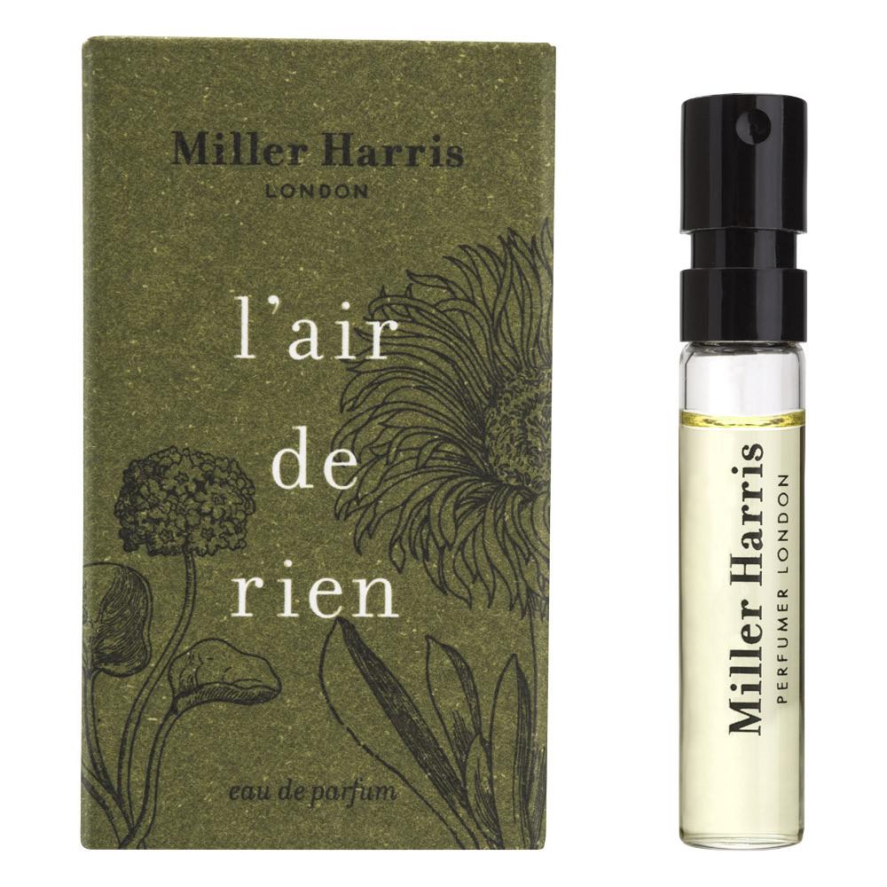 Image of   Miller Harris L'Air de Rien Eau de Parfum, DUFTPRØVE, 2 ml.