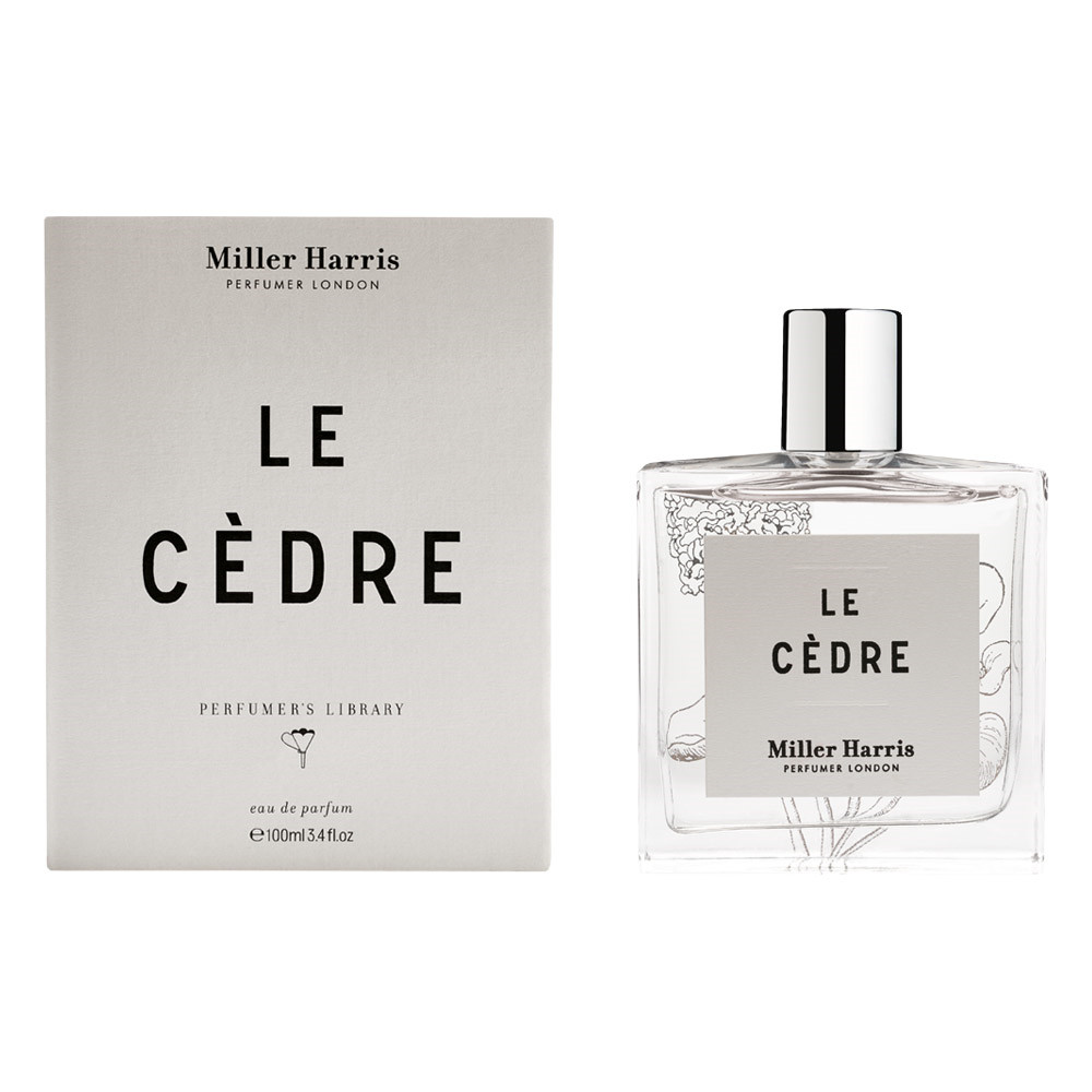 Image of   Miller Harris Library Le Cedre Eau de Parfum, 100 ml.