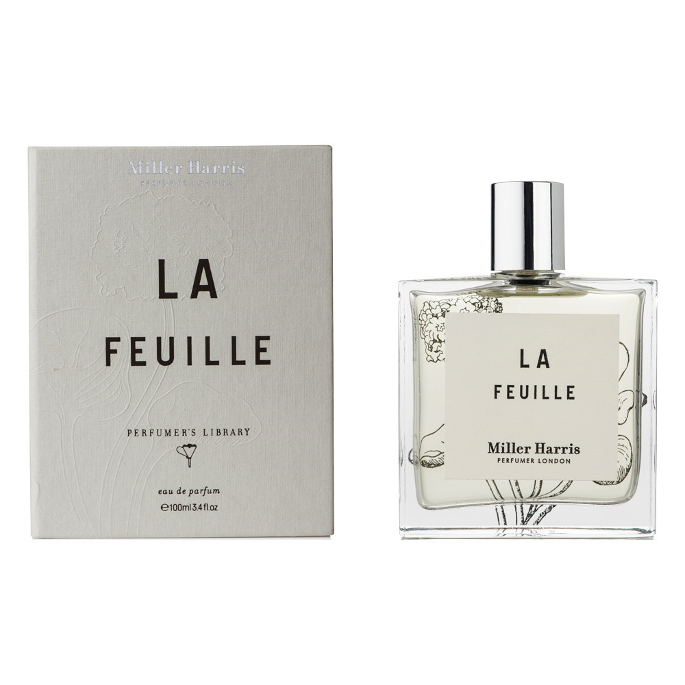 Image of   Miller Harris Library Le Feuille Eau de Parfum, 100 ml.