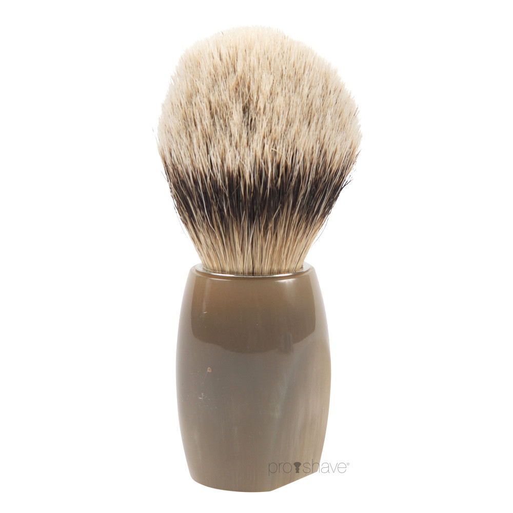 Image of   Dovo Barberkost, Silvertip Badger, Buffalo horn