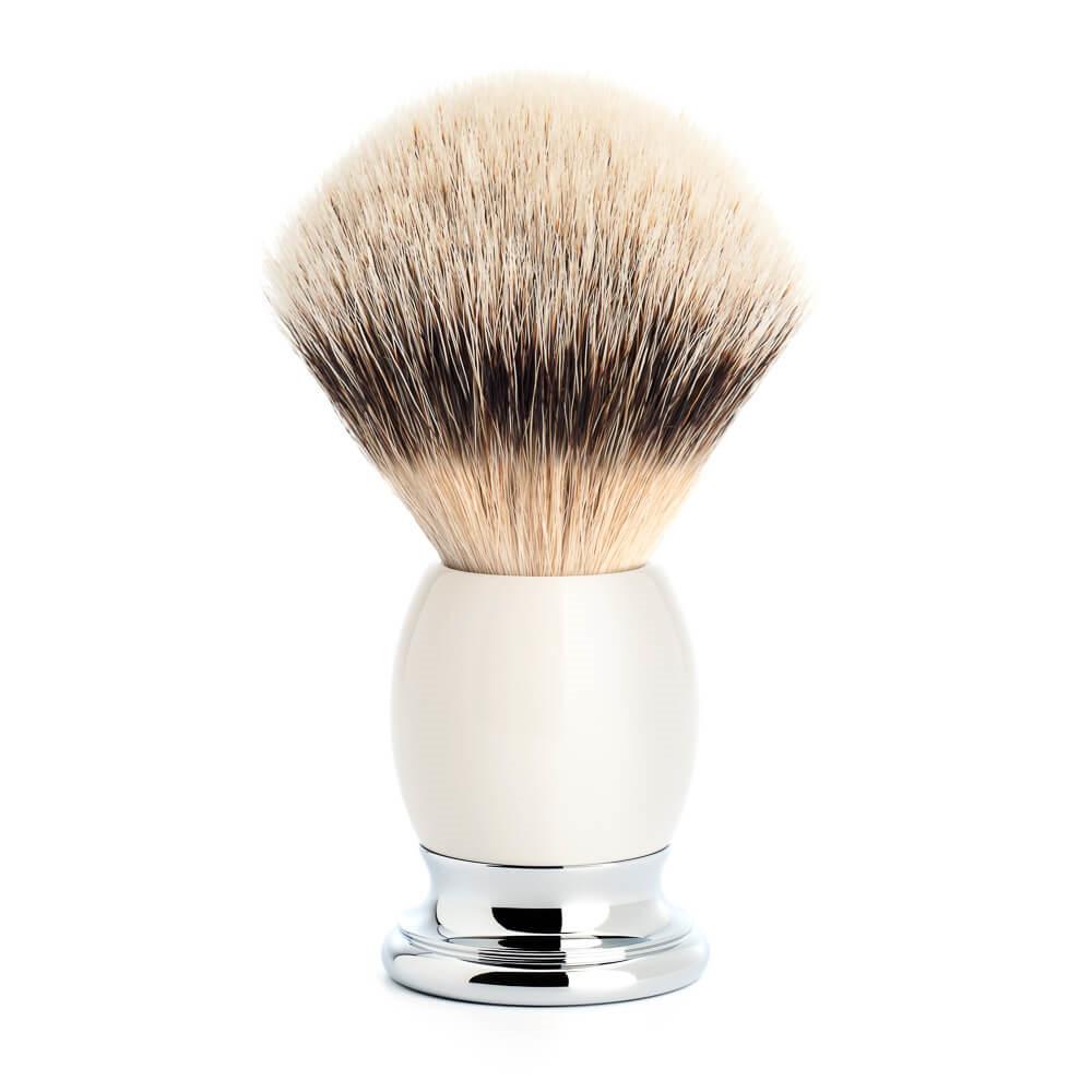 Image of   Mühle Silvertip Barberkost, 23 mm, Sophist, Porcelæn