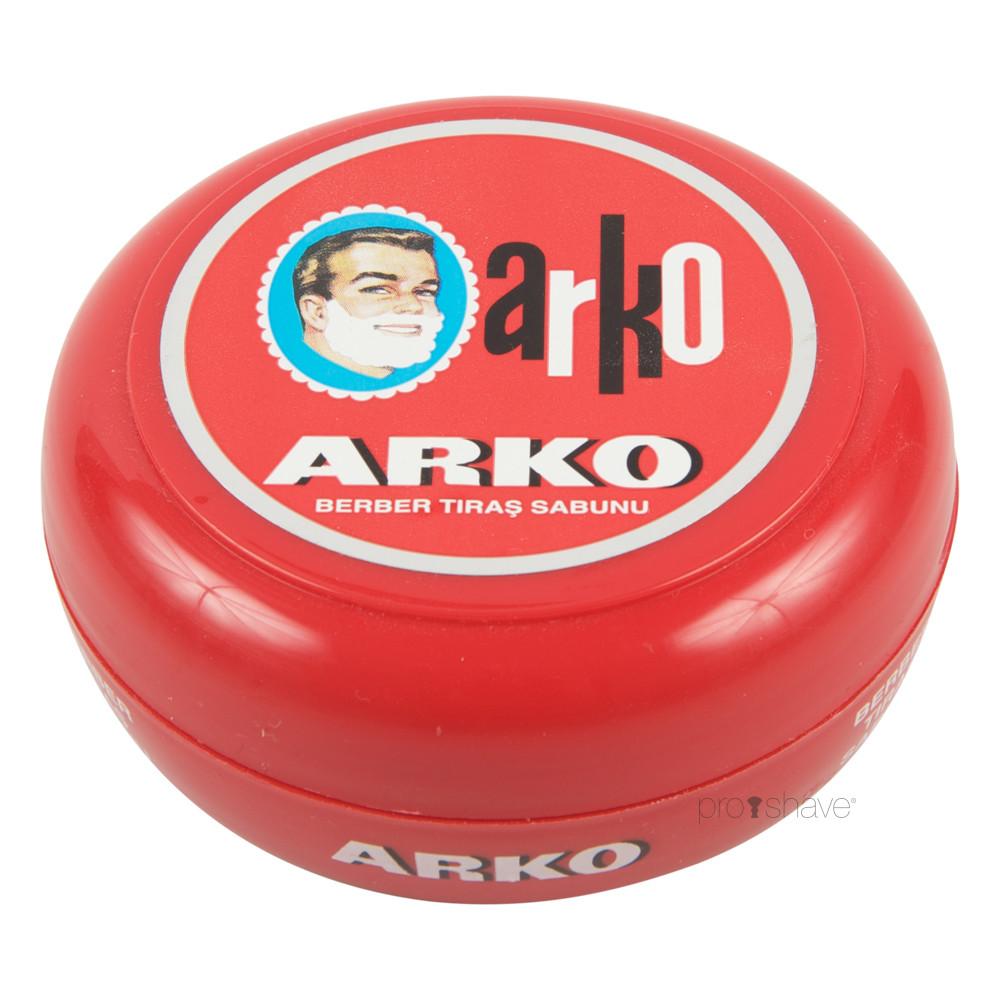 Image of   Arko Barbersæbe i skål, 90 gr.