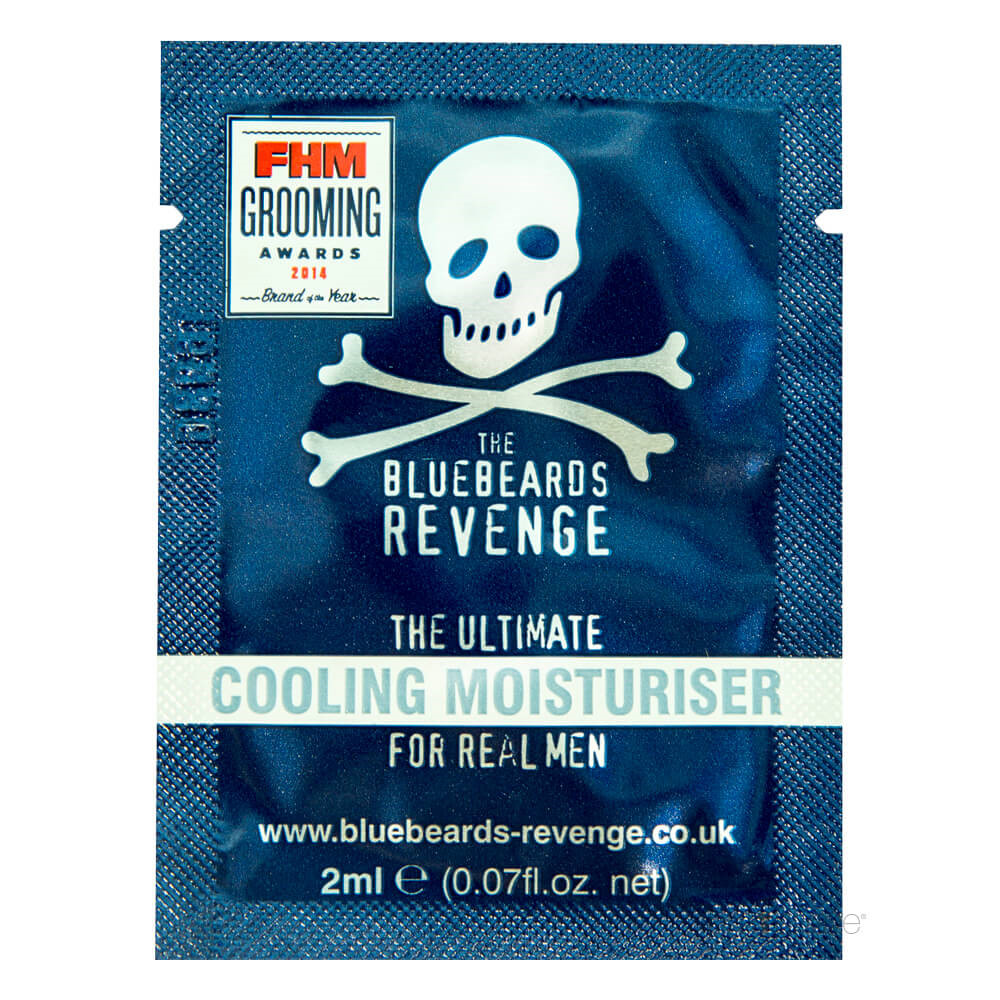 Image of   Bluebeards Revenge Cooling Moisturiser, 2 ml. SAMPLE