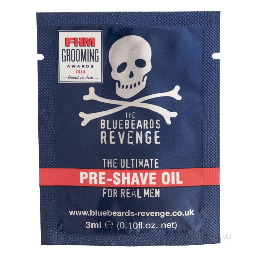 Image of   Bluebeards Revenge Pre Shave Oil, 3 ml. SAMPLE