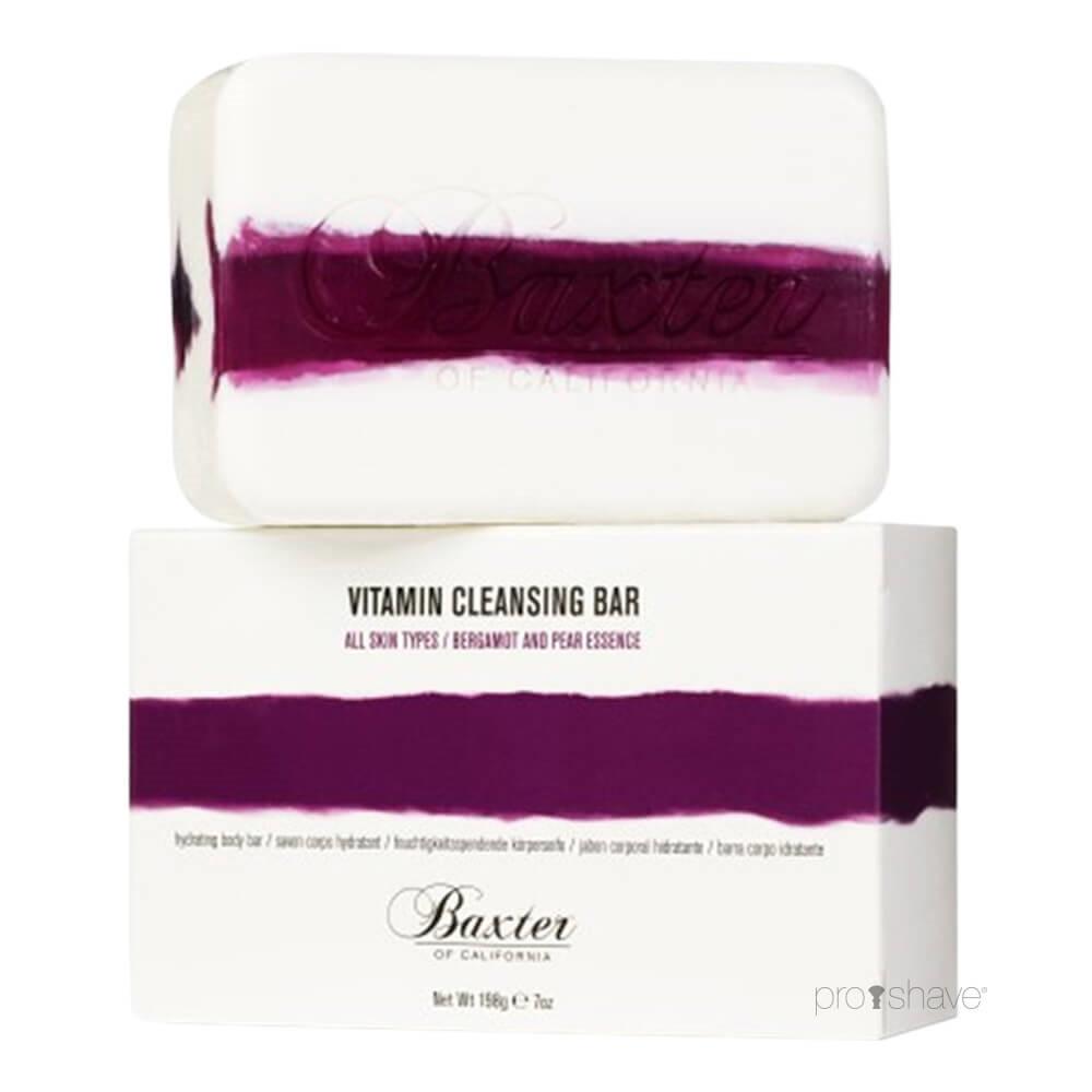Image of   Baxter Of California Vitamin Cleansing Body Bar, Bergamot & Pære