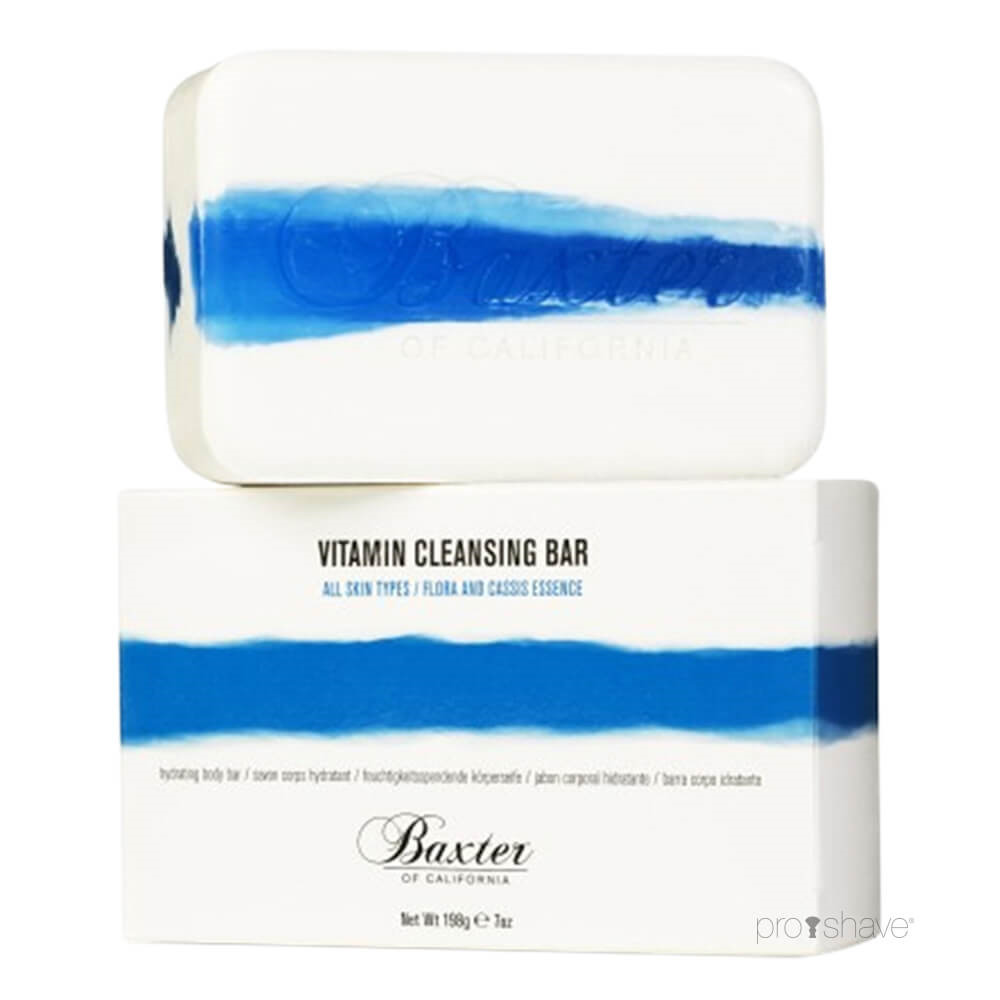Image of   Baxter Of California Vitamin Cleansing Body Bar, Blomst & Solbær