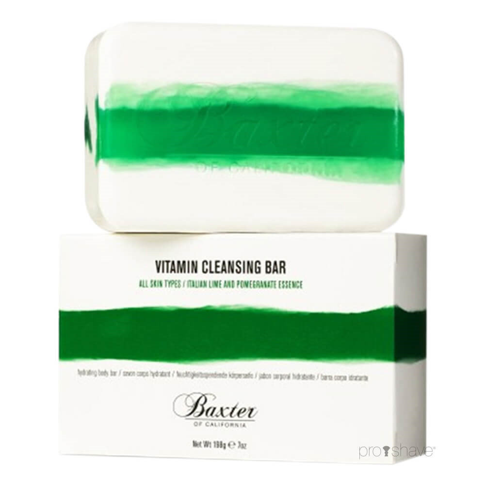 Image of   Baxter Of California Vitamin Cleansing Body Bar, Lime & Granatæble