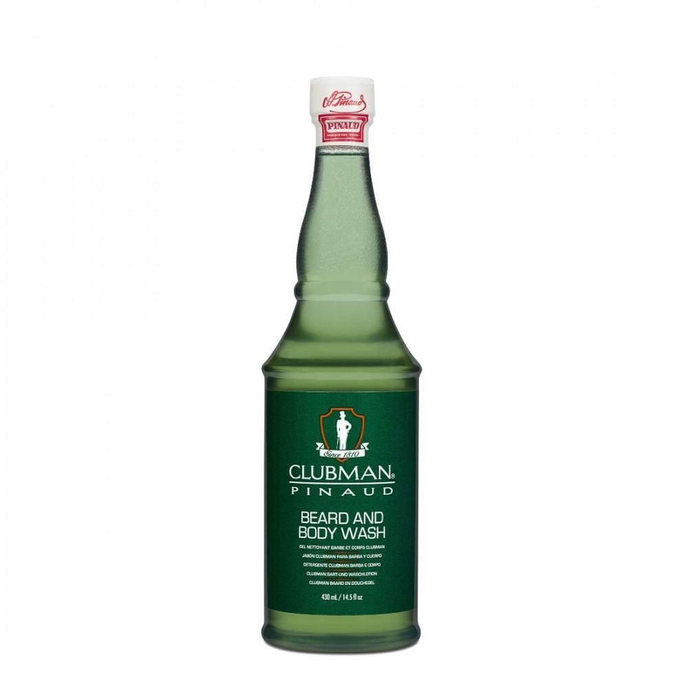 Image of   Pinaud Clubman Skæg- og Bodywash, 470 ml.