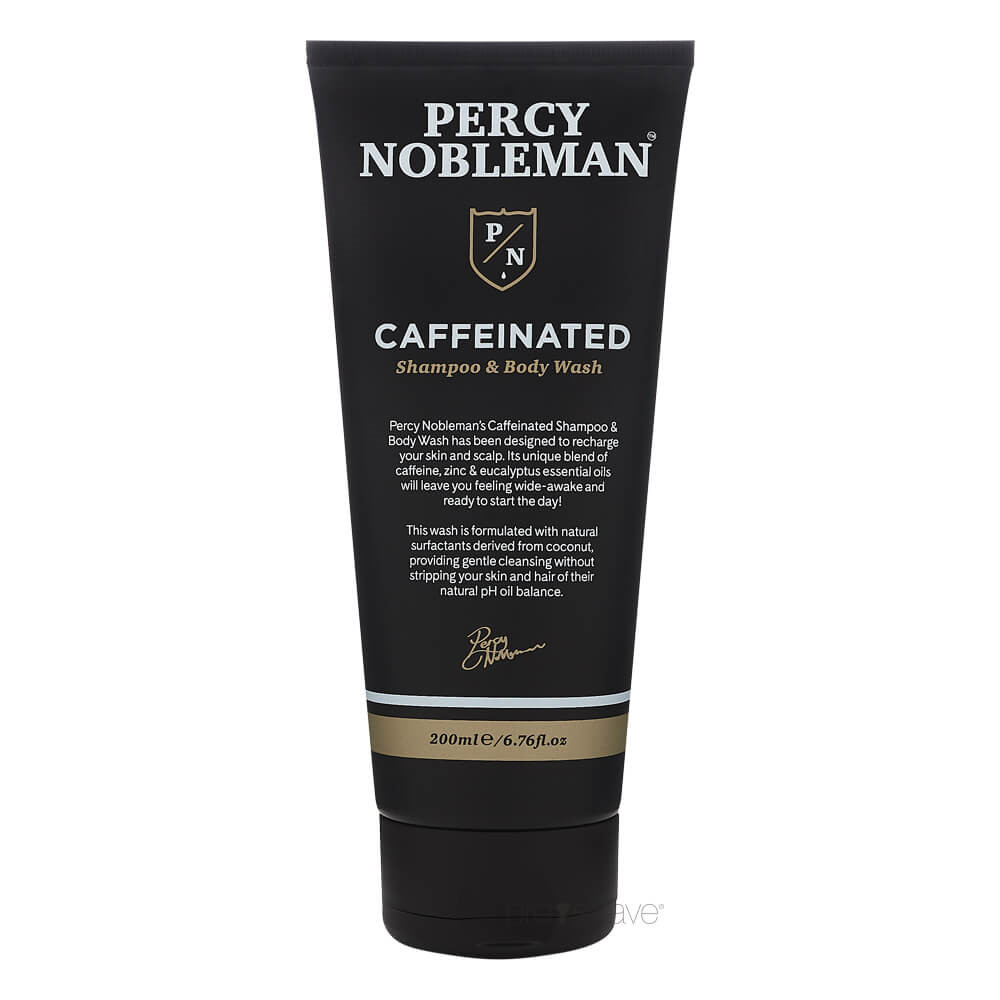 Image of   Percy Nobleman Caffeinated Shampoo & Body Wash, 200 ml.