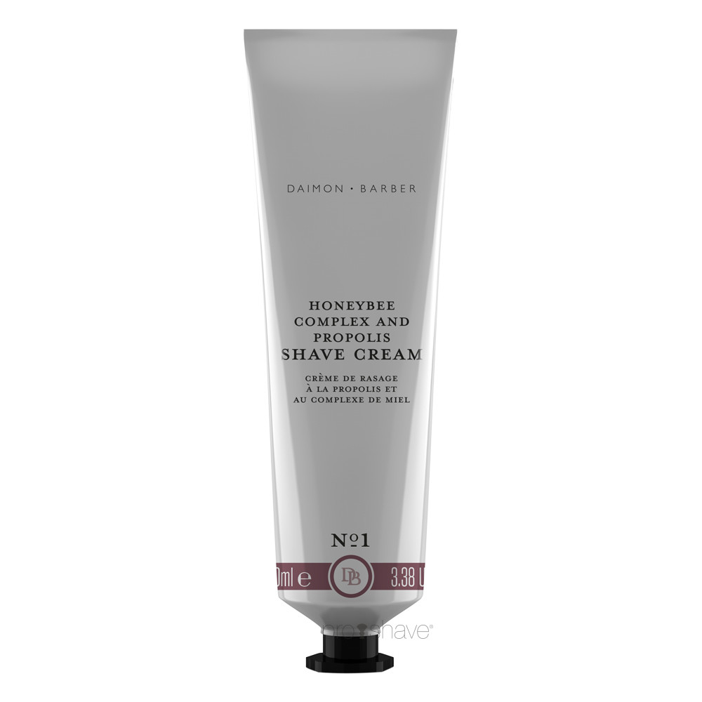 Image of   Daimon Barber Honeybee Complex & Propolis Shave Cream, 100 ml.