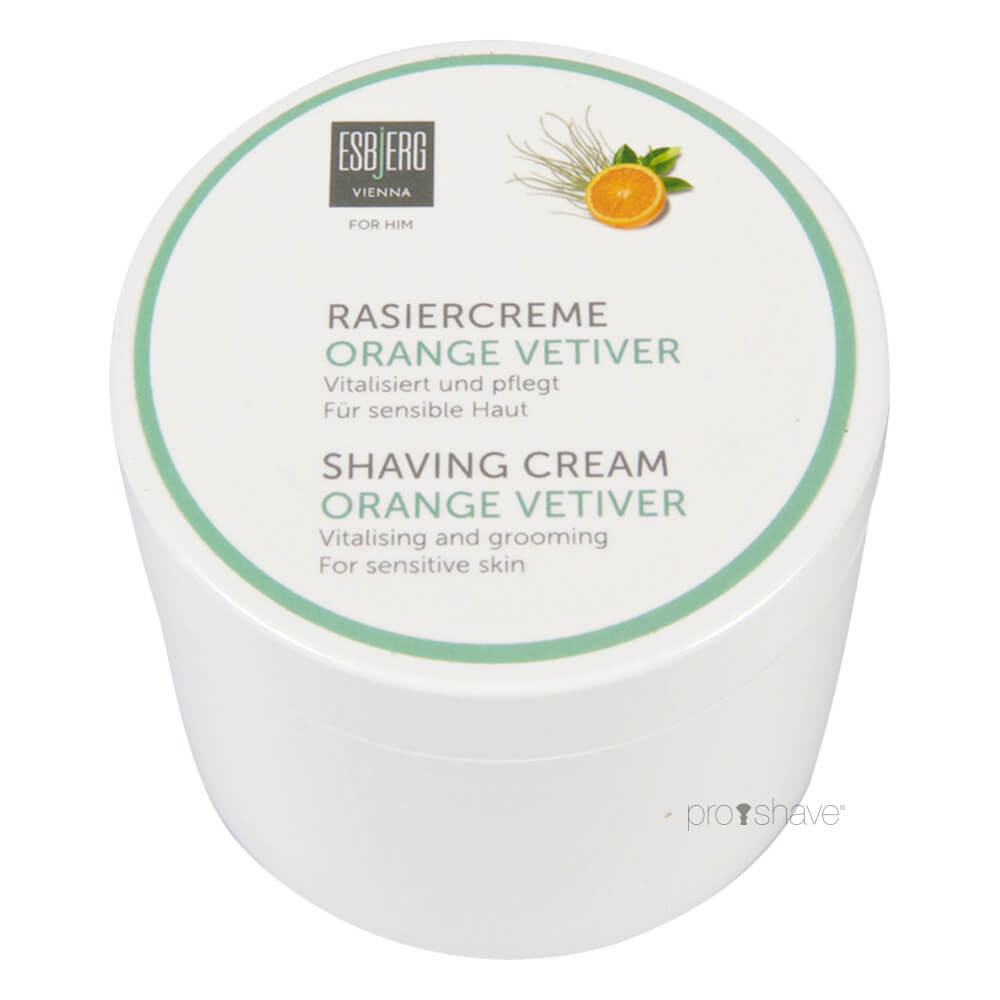 Image of   Esbjerg Vienna Orange Vetiver Barbercreme, 150 gr.