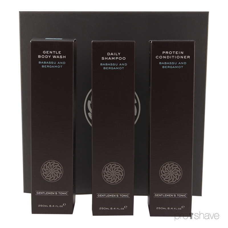 Image of   Gentlemens Tonic Shower Gift Set, 3x250 ml.