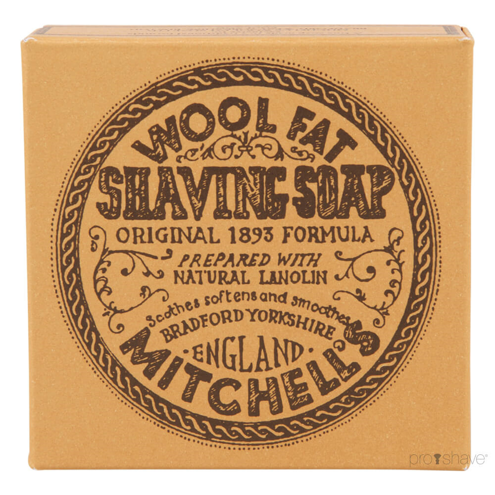 Image of   Mitchell's Wool Fat Barbersæbe, Refill, 125 gr.
