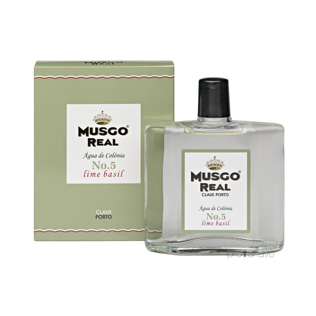 Image of   Musgo Real Cologne No.5, Lime Basil, 100 ml.