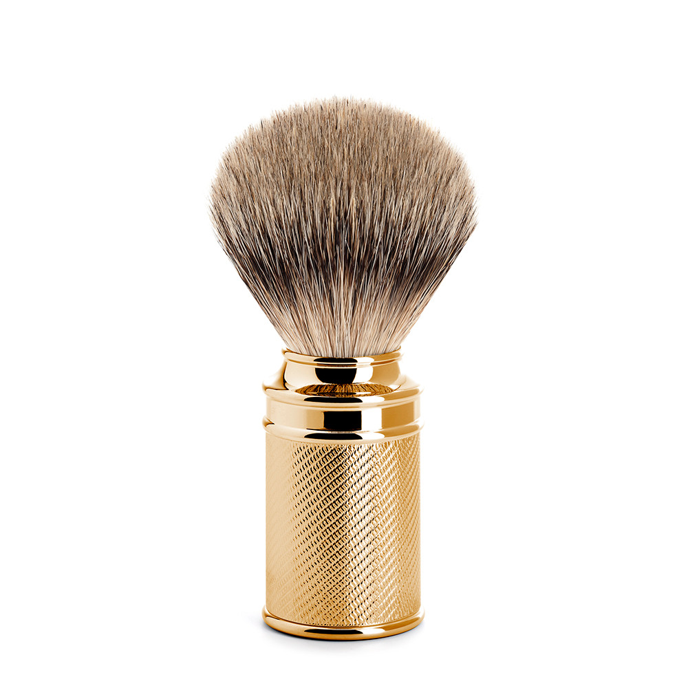 Image of   Mühle Silvertip Barberkost, 21 mm, Traditional, GOLD