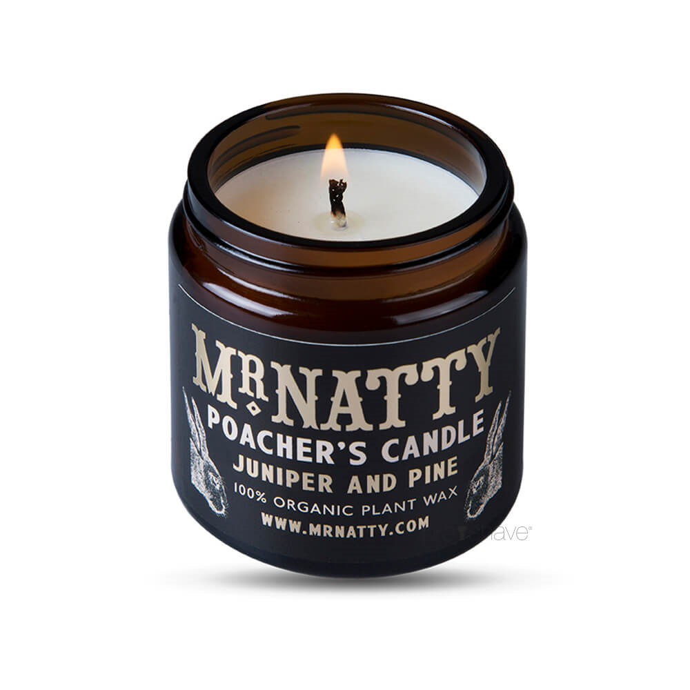 Image of   Mr Natty Poacher's Candle, 40 timer