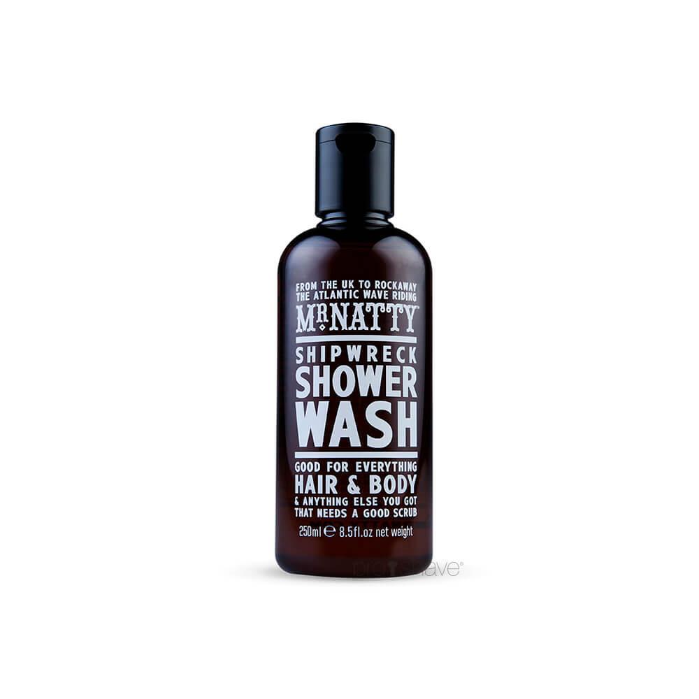 Image of   Mr Natty Shipwreck Shower Wash, 250 ml.