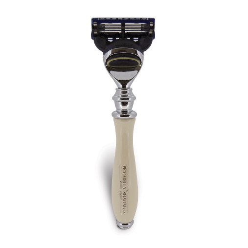 Image of   Piccadilly Shaving Gillette Fusion Skraber, Ivory
