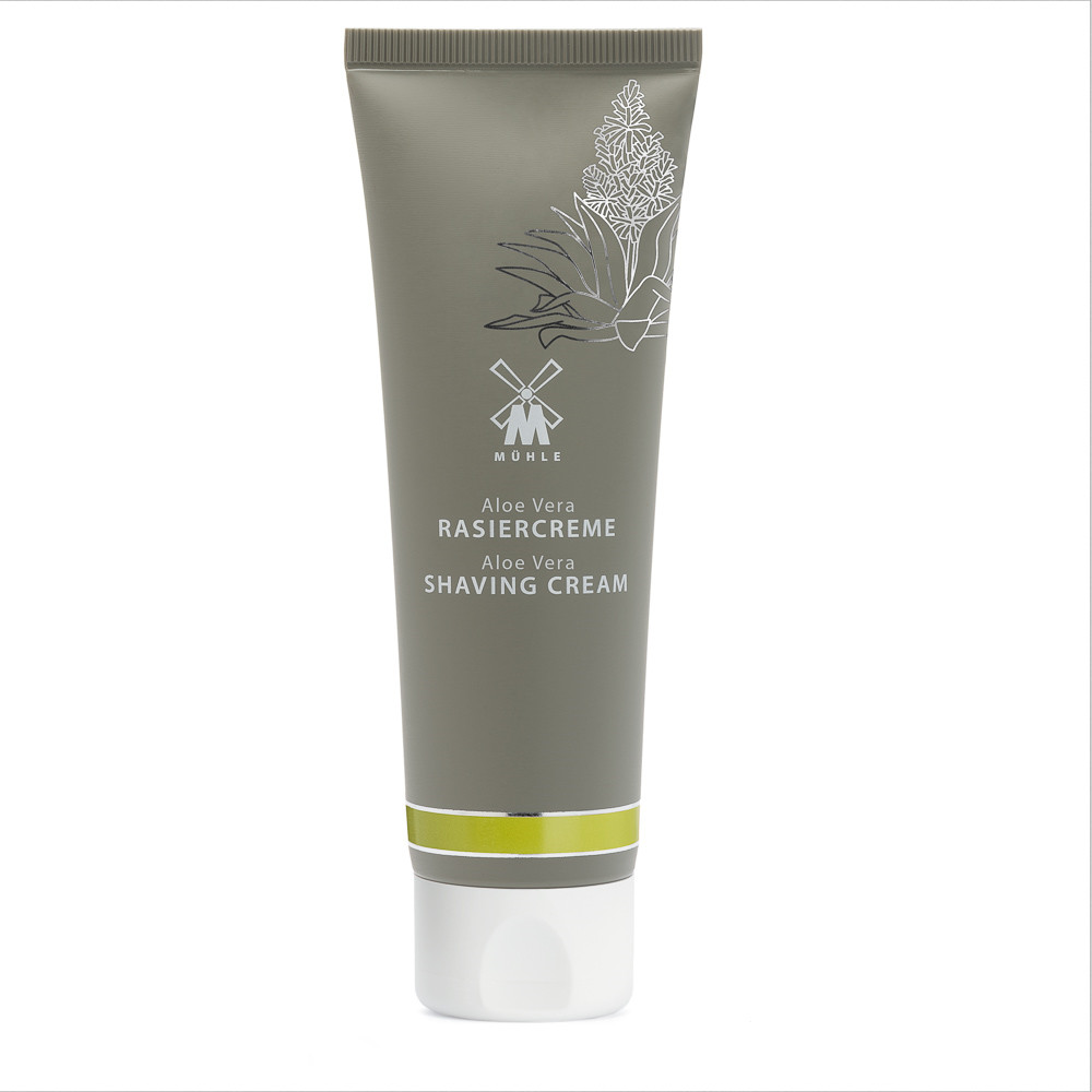 Image of   Mühle Barbercreme, Aloe Vera, 75 ml.