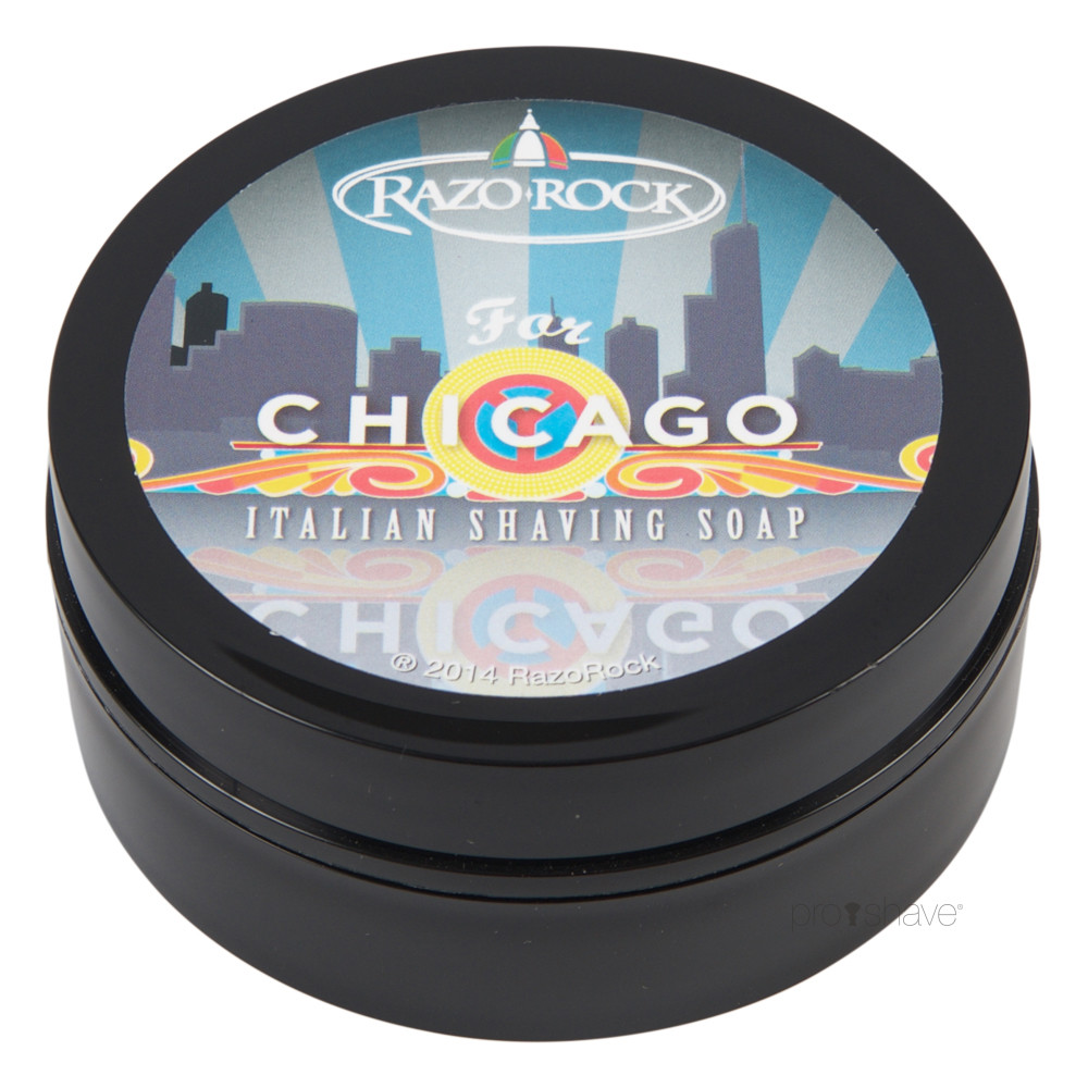 Image of   RazoRock For Chicago Barbersæbe, 125 ml.