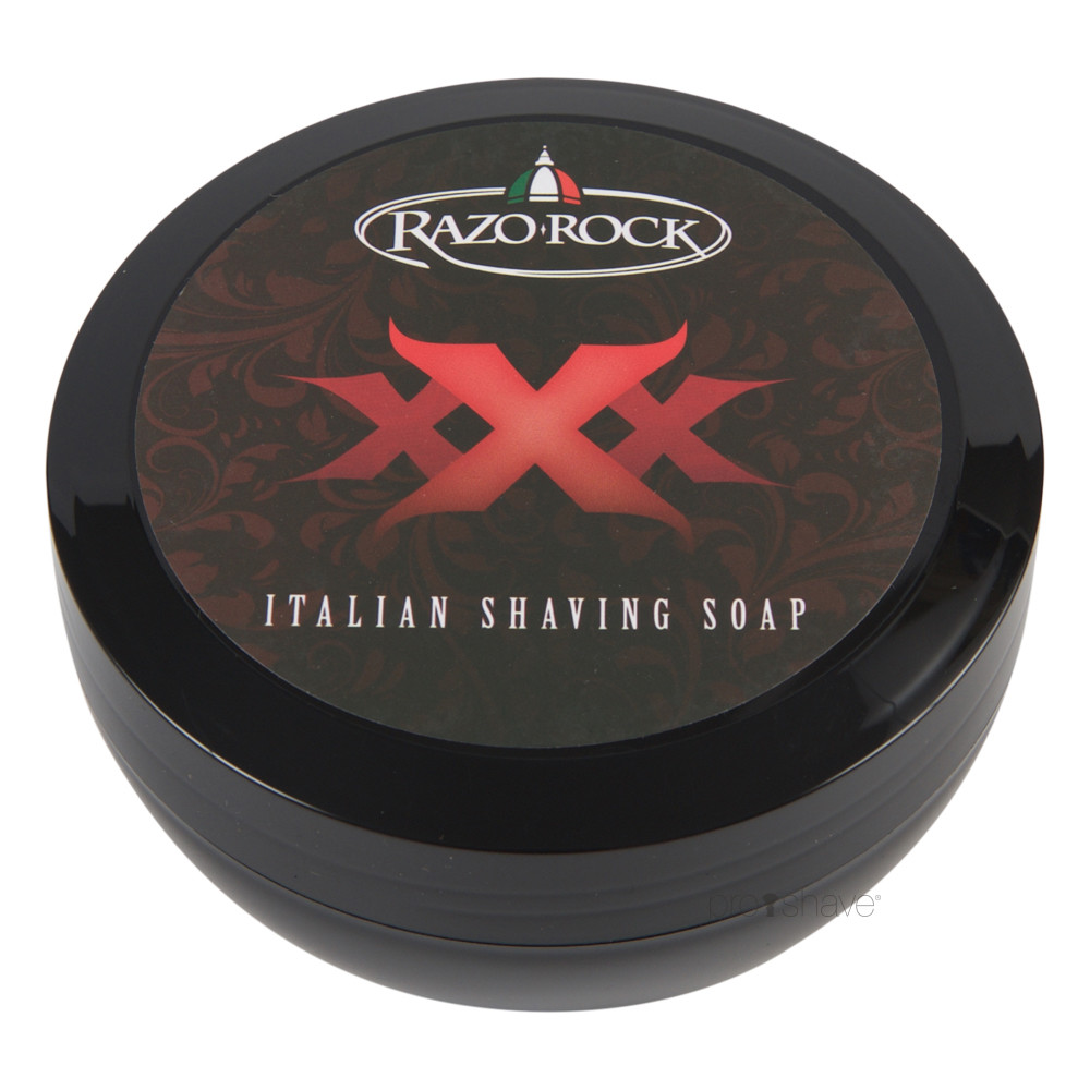 Image of   RazoRock XXX Barbersæbe, 150 ml.
