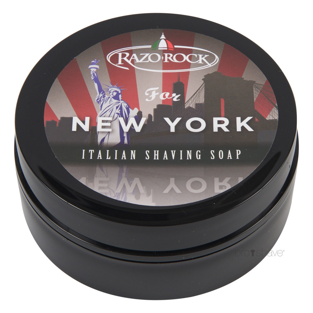 Image of   RazoRock For New York Barbersæbe, 125 ml.