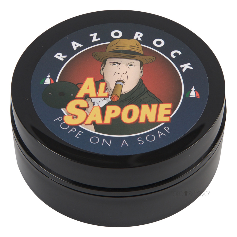 Image of   RazoRock Al Sapone Barbersæbe, 125 ml.