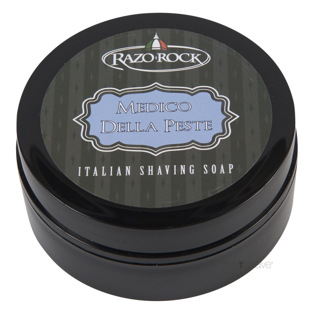 Image of   RazoRock Medico della Peste Barbersæbe, 125 ml.