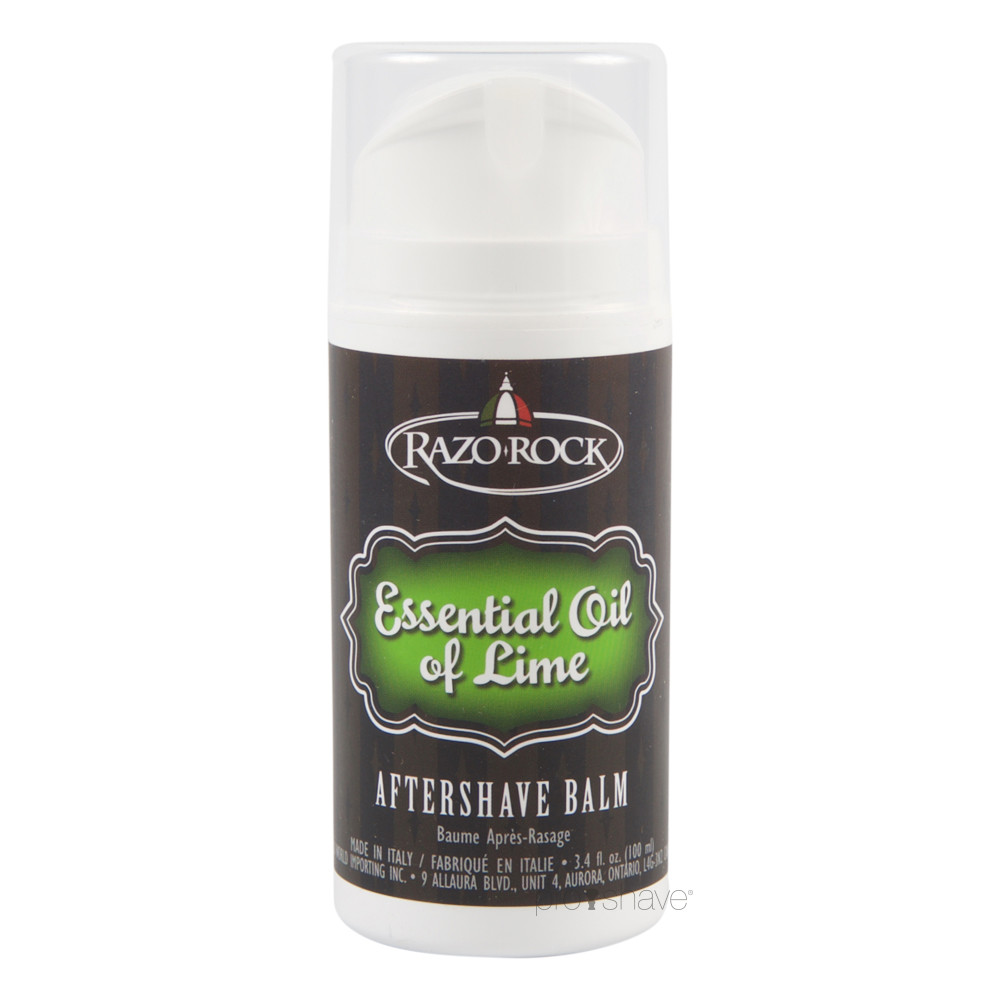 Image of   RazoRock Essential Oil of Lime Aftershave Balm, 100 ml.