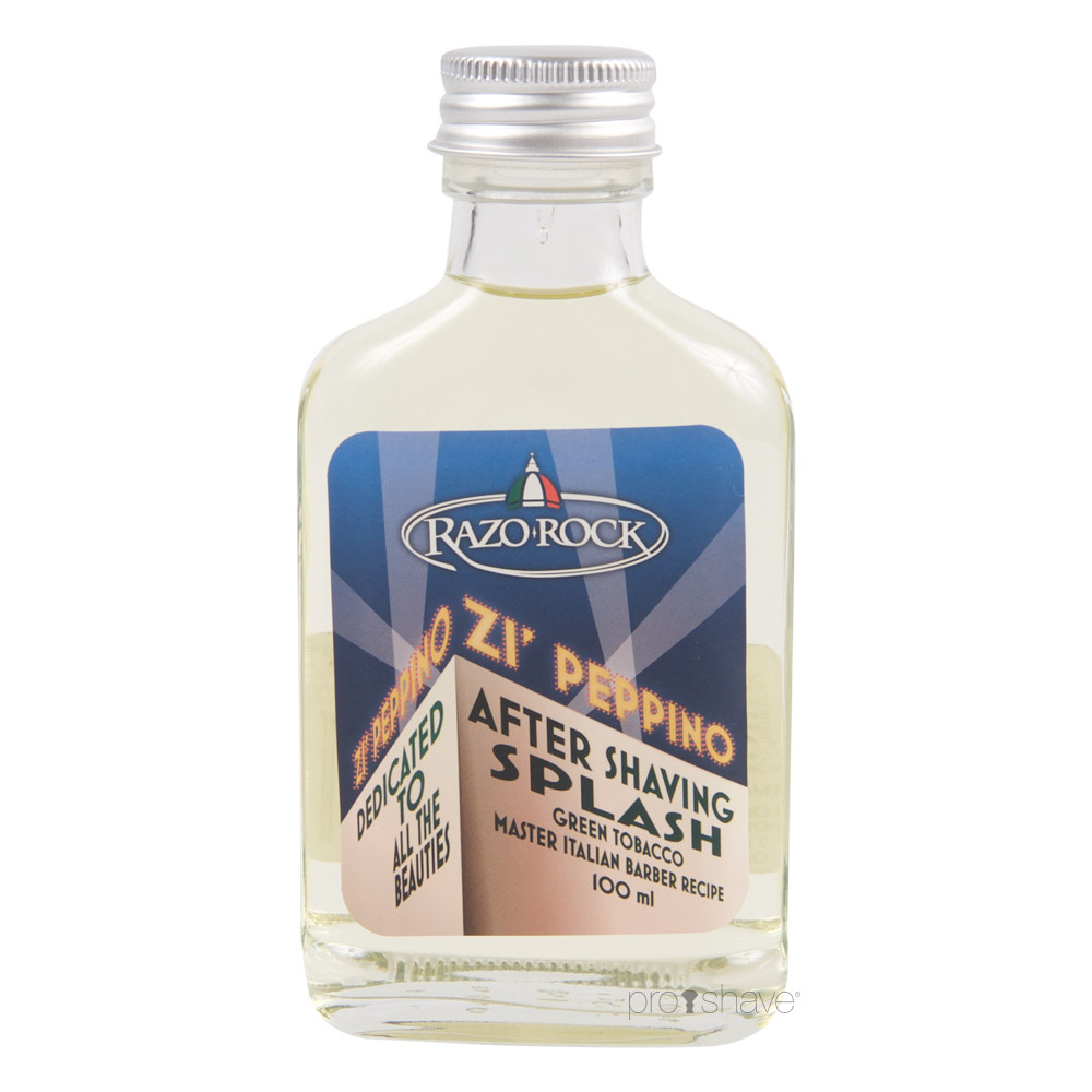 Image of   RazoRock Zi' Peppino Aftershave Splash, 100 ml.