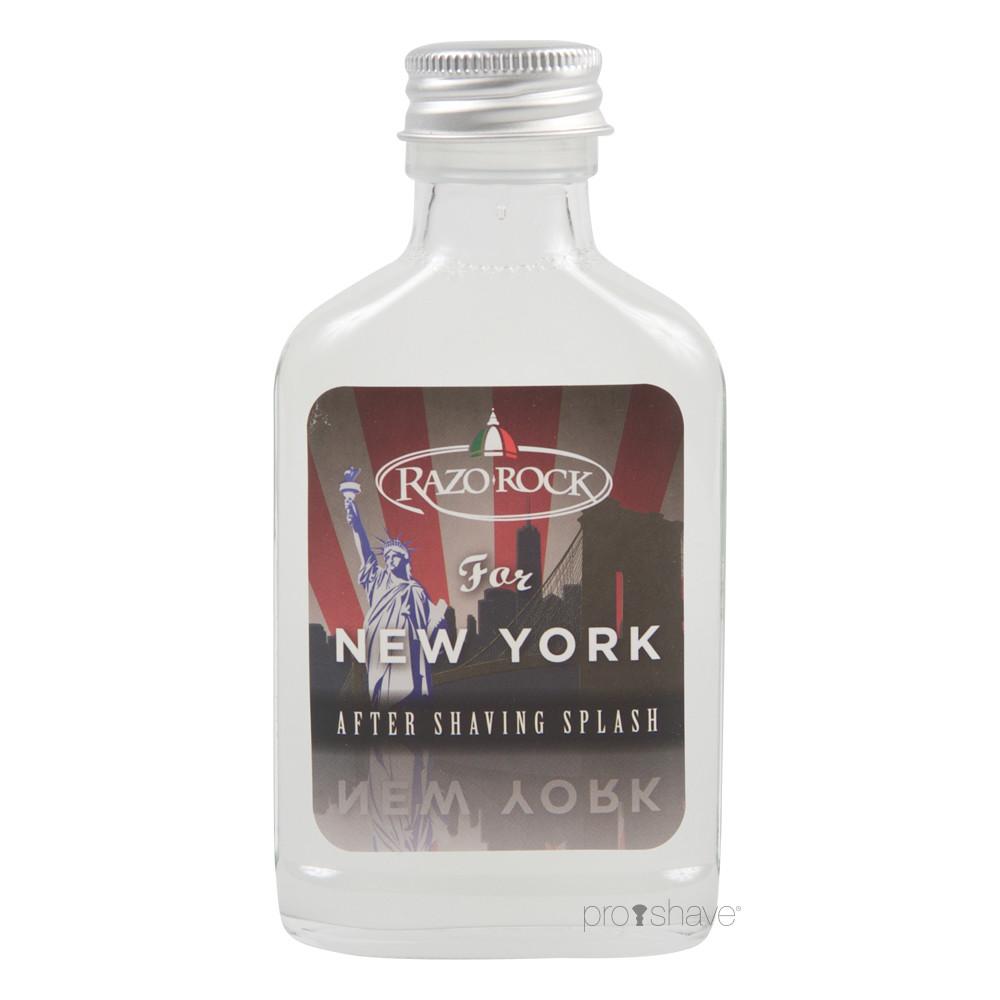 Image of   RazoRock For New York Aftershave Splash, 100 ml.