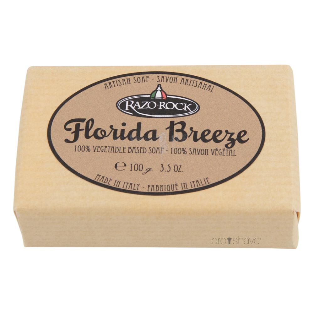 Image of   RazoRock Florida Breeze Sæbe, 100 gr.