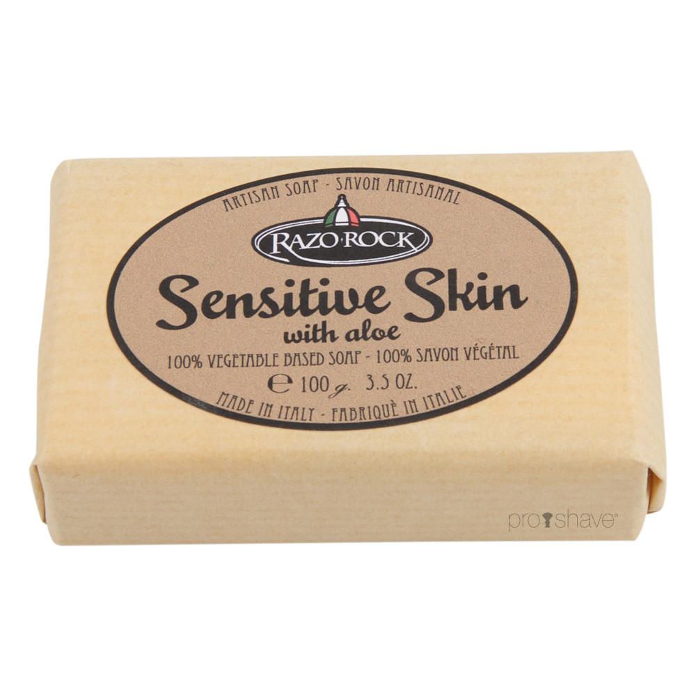 Image of   RazoRock Sensitive Skin Sæbe, 100 gr.