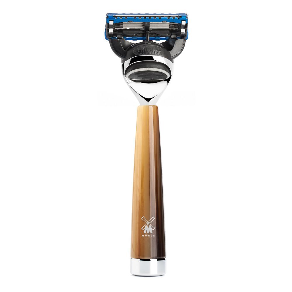 Image of   Mühle Gillette Fusion Skraber, Liscio, Brunt horn