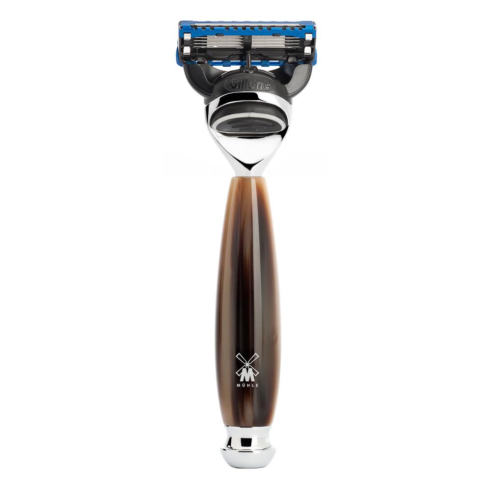 Image of   Mühle Gillette Fusion skraber, Vivo, Brunt Horn