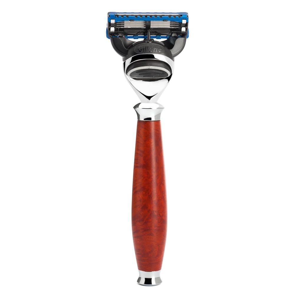 Image of   Mühle Gillette Fusion Skraber, Purist, Briar træ