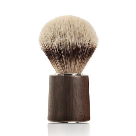 Image of   Mondial Silvertip Badger Barberkost, Afrikansk wenge træ