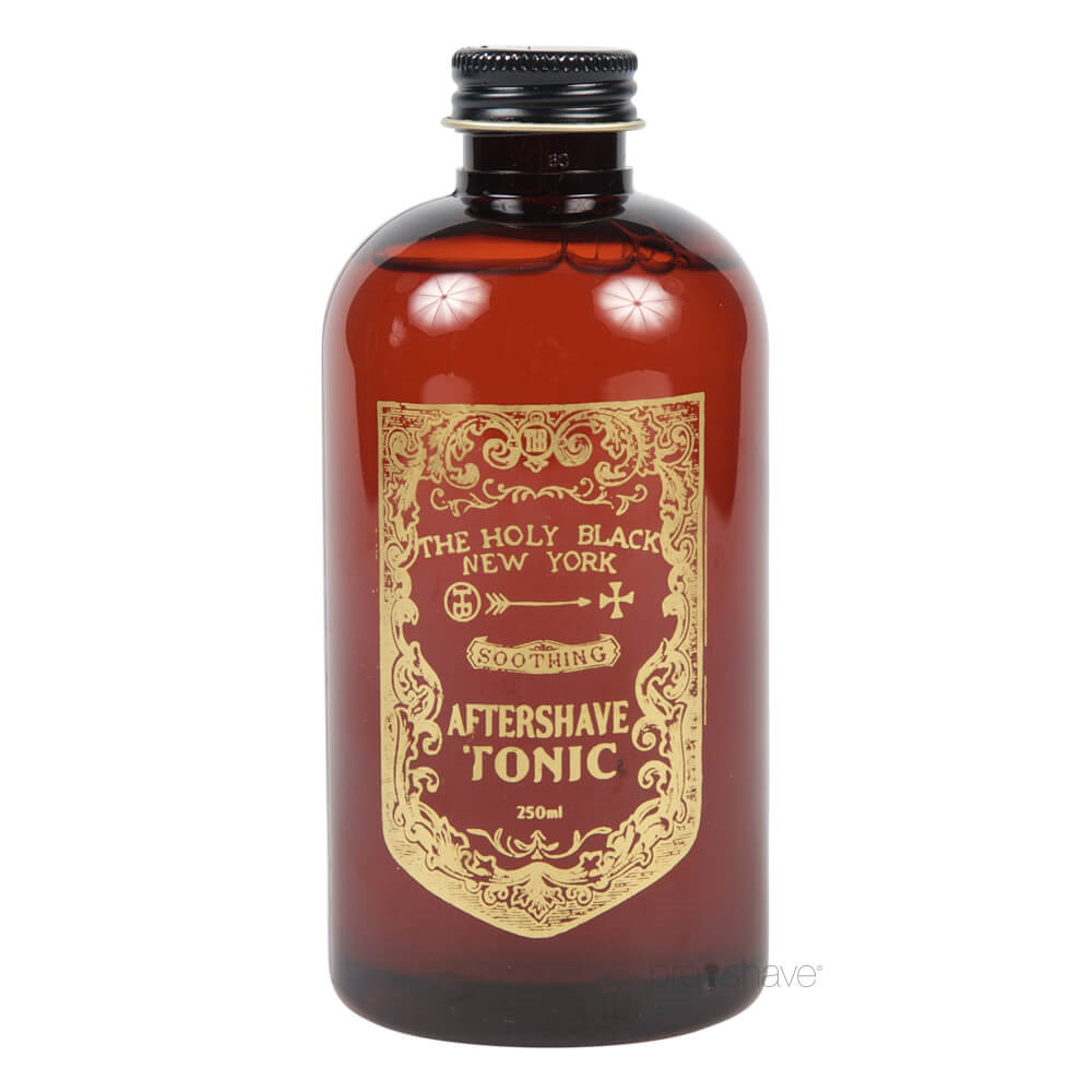 Image of   The Holy Black Aftershave Tonic, 250 ml.