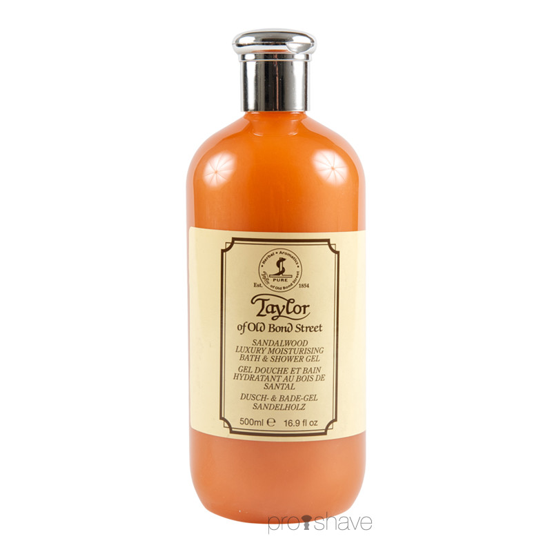 Image of   Taylor Of Old Bond Street Shower Gel, Sandeltræ, 500 ml.
