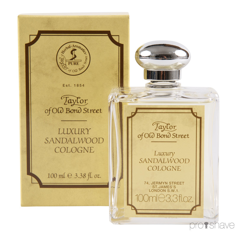 Image of   Taylor Of Old Bond Street Cologne, Sandeltræ, 100 ml.