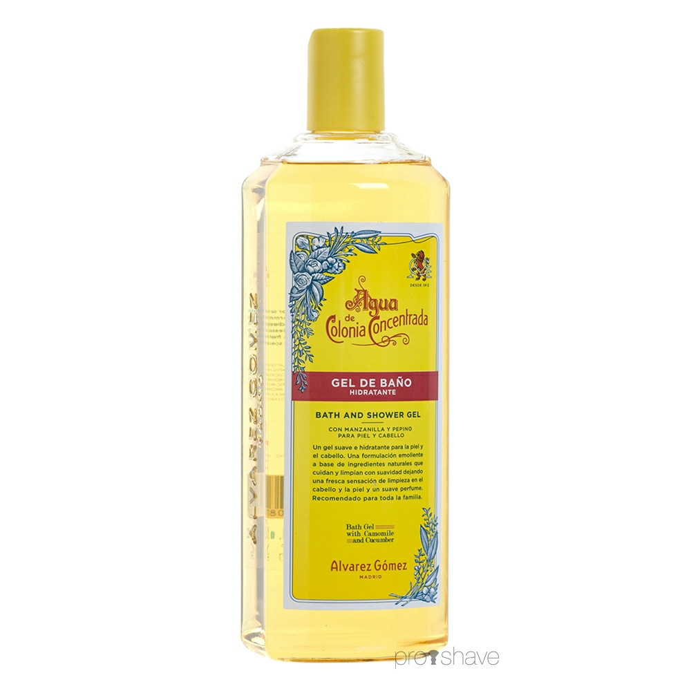 Image of Alvarez Gómez Agua Moisturizing Bath and Shower Gel, 300 ml.