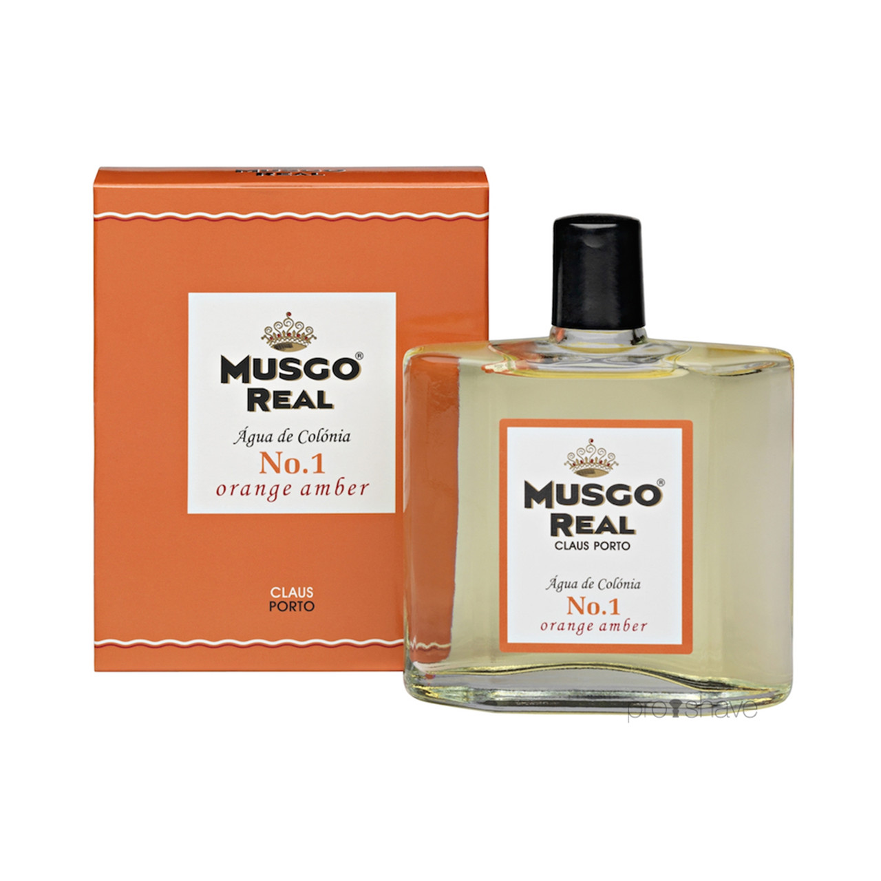 Image of   Musgo Real Cologne No.1, Orange Amber, 100 ml.