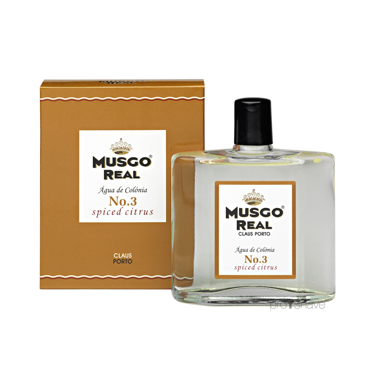 Image of   Musgo Real Cologne No.3, Spiced Citrus, 100 ml.
