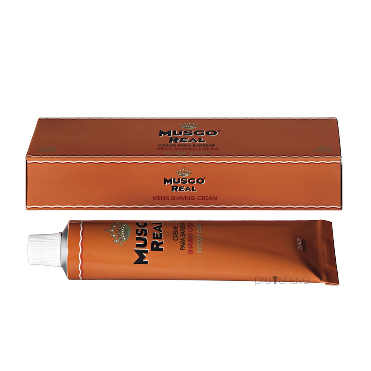 Image of   Musgo Real Barbercreme, Orange Amber, 100 ml.