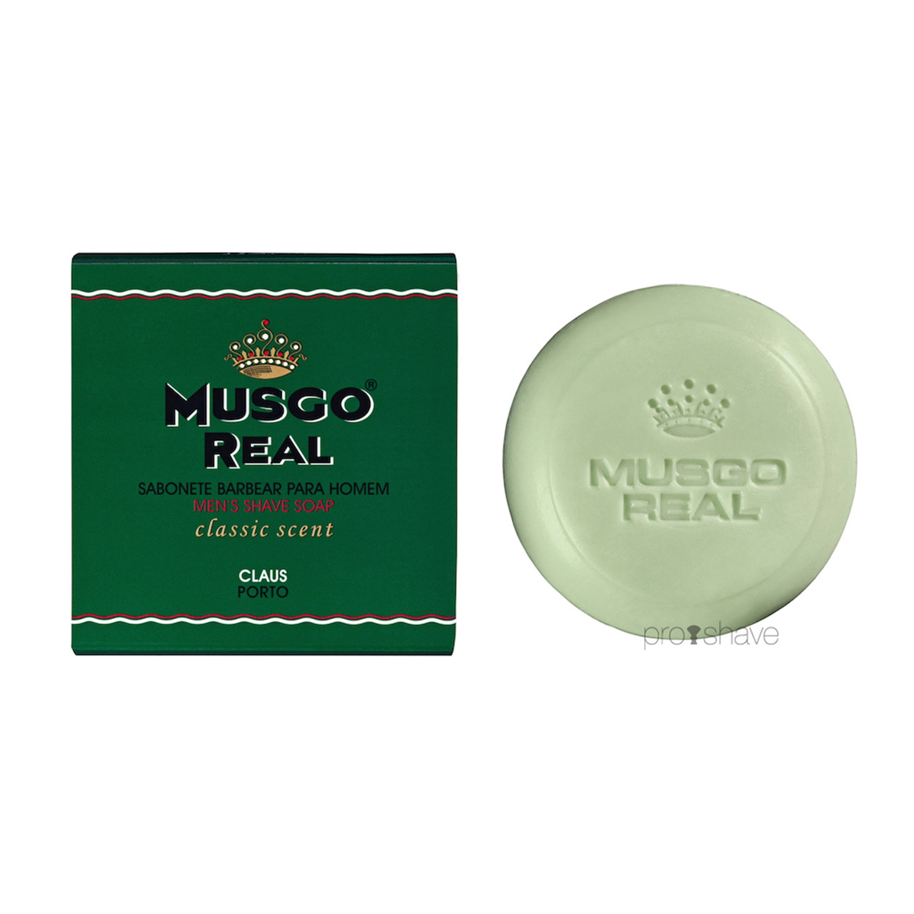 Image of   Musgo Real Barbersæbe, Classic, 125 gr.